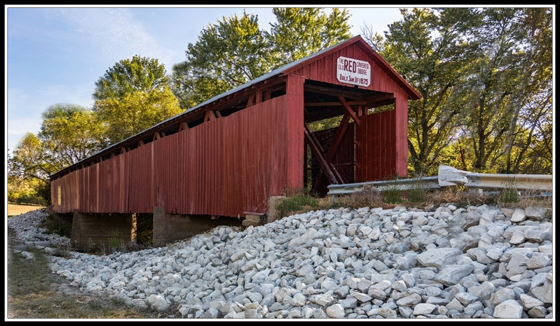 Red Bridge border