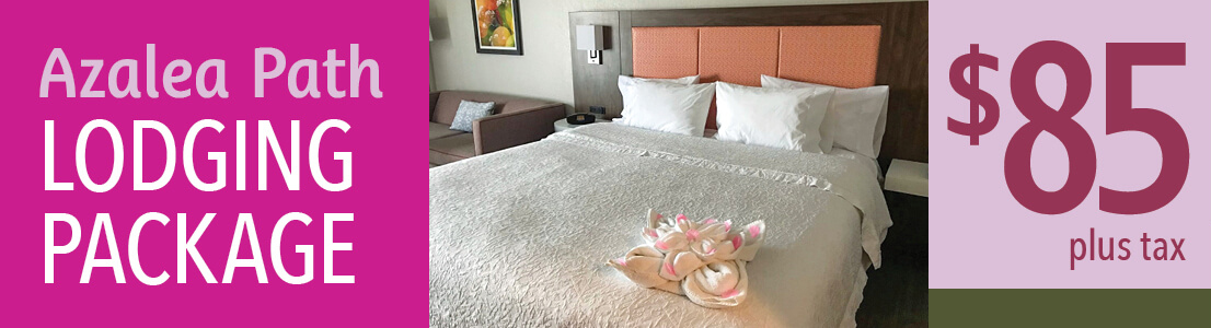 Azalea Path Lodging Package for $85
